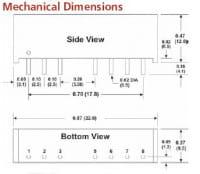 D101ERW | DC/DC | Ein: 4,5-9 V DC | Aus: 3,3 V DC | MicroPower Direct