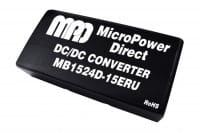MB1524S-12ERU | DC/DC | Ein: 9-36 V DC | Aus: 12 V DC | MicroPower Direct