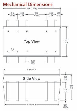 LF103SI | DC/DC | Ein: 5 V DC | Aus: 15 V DC | MicroPower Direct