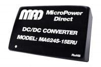 MA624S-12ERU | DC/DC | Ein: 9-36 V DC | Aus: 12 V DC | MicroPower Direct