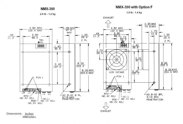NMX-353-0512   AC/DC   Aus: 5 V DC 12 V DC -12 V DC   Condor (SL Power)