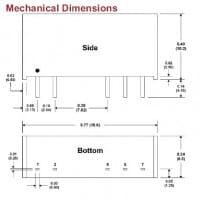 D124EI | DC/DC | Ein: 24 V DC | Aus: 15 V DC | MicroPower Direct