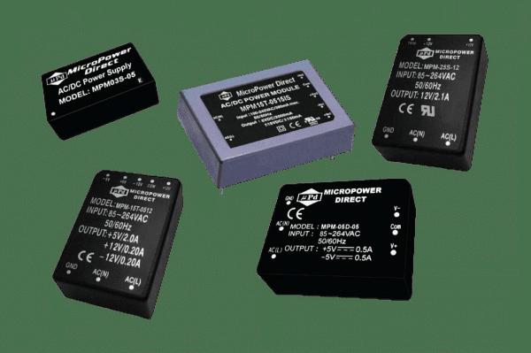 MPM-15T-0512CM | AC/DC | Aus: 5 V DC|12 V DC|-12 V DC | MicroPower Direct