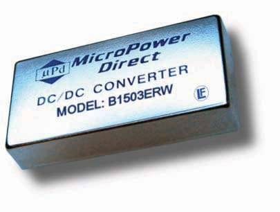 B1503ERW | DC/DC | Ein: 9-18 V DC | Aus: 15 V DC | MicroPower Direct