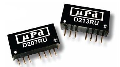 D201RU   DC/DC   Ein: 9-36 V DC   Aus: 3,3 V DC   MicroPower Direct